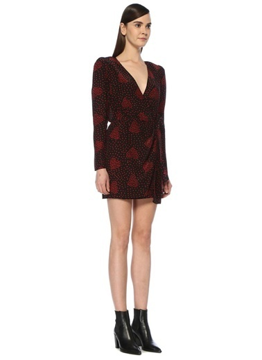 The Kooples Elbise Kırmızı